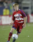 Apr 12, 2008, New York Red Bulls vs FC Dallas - Dax McCarty Photographic Print by Rick Yeatts