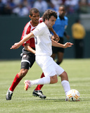 2007 CONCACAF Gold Cup: June 9, Trinidad & Tobago vs USA - Michael Parkhurst Photographic Print by Tony Quinn