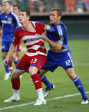 Aug 23, 2008, FC Dallas vs Kansas City Wizards - Kenny Cooper Photographic Print by Scott Pribyl
