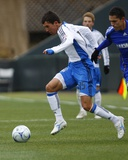 Apr 5, 2009, San Jose Earthquakes vs Kansas City Wizards - Shea Salinas Photographic Print by Scott Pribyl