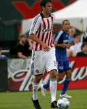 Aug 9, 2008, Chivas USA vs Kansas City Wizards - Bobby Burling Photographic Print by Scott Pribyl