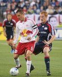 Jun 18, 2008, New York Red Bulls vs New England Revolution - Jeff Larentowicz Photographic Print by Martin Morales