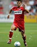 Jul 12, 2008, Toronto FC vs Chicago Fire - Gonzalo Segares Photographic Print by Brian Kersey