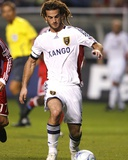 Aug 1, 2009, Real Salt Lake vs Chicago Fire - Kyle Beckerman Photographic Print by Brian Kersey