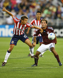 Aug 8, 2009, Chivas USA vs Colorado Rapids - Nick LaBrocca Photographic Print by Bart Young
