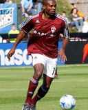 Apr 5, 2008, Colorado Rapids vs Kansas City Wizards - Omar Cummings Photographic Print by Scott Pribyl