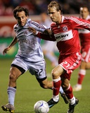 Apr 26, 2008, Colorado Rapids vs Chicago Fire - Nick LaBrocca Photographic Print by Brian Kersey