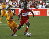 Aug 5, 2009, Chicago Fire vs Tigres UANL - Patrick Nyarko Photo by Brian Kersey
