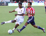 2009 Conference Semifinals Game One: Nov 1, Los Angeles Galaxy vs Chivas USA - Edson Buddle Photographic Print by Robert Mora