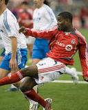 Apr 28, 2007, Kansas City Wizards vs Toronto FC - Maurice Edu Photo by Paul Giamou
