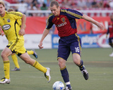 Jul 12, 2008, Columbus Crew vs Real Salt Lake - Chad Marshall Photographic Print by Melissa Majchrzak