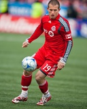 Apr 4, 2009, Seattle Sounders FC vs Toronto FC - Chad Barrett Photographic Print by Paul Giamou