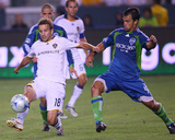 Aug 15, 2009, Seattle Sounders FC vs Los Angeles Galaxy - Patrick Ianni Photographic Print by Robert Mora