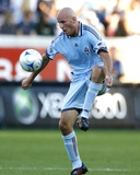 Aug 23, 2009, Colorado Rapids vs Chicago Fire - Conor Casey Photographic Print by Brian Kersey