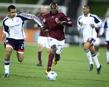 Oct 3, 2009, New England Revolution vs Colorado Rapids - Omar Cummings Photographic Print by Bart Young