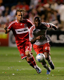 Jul 12, 2008, Toronto FC vs Chicago Fire - Maurice Edu Photo by Brian Kersey