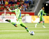 Aug 8, 2009, Seattle Sounders FC vs Real Salt Lake - Nathan Sturgis Photographic Print by Melissa Majchrzak