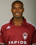 Feb 7, 2008, Colorado Rapids Head Shots - Omar Cummings Photographic Print by Garrett Ellwood