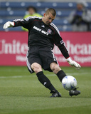 Apr 5, 2009, New York Red Bulls vs Chicago Fire - Jon Busch Photographic Print by Brian Kersey