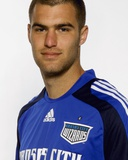 2009 Kansas City Wizards Headshots - Graham Zusi Photographic Print by Scott Pribyl