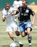 Aug 3, 2008, Los Angeles Galaxy vs San Jose Earthquakes - Sean Franklin Photographic Print by Sara Wolfram