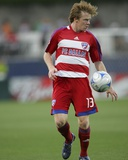 Apr 24, 2008, New England Revolution vs FC Dallas - Dax McCarty Photographic Print by Rick Yeatts