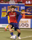 Sep 3, 2008, Tigres UANL vs Real Salt Lake - Kyle Beckerman Photographic Print by Melissa Majchrzak