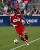Aug 5, 2009, Chicago Fire vs Tigres UANL - Gonzalo Segares Photo af Brian Kersey