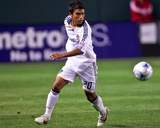 Jul 11, 2009, Los Angeles Galaxy vs Chivas USA - AJ DeLaGarza Photographic Print by Robert Mora