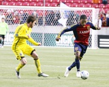 Apr 2, 2009, Columbus Crew vs Real Salt Lake - Robbie Findley Photographic Print by Melissa Majchrzak