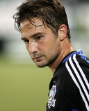 Aug 30, 2008, Kansas City Wizards vs San Jose Earthquakes - Ned Grabavoy Photographic Print by Sara Wolfram