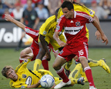 Jul 11, 2009, Columbus Crew vs Chicago Fire - Brian Carroll Photographic Print by Brian Kersey