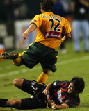 Jun 23, 2004, New York-New Jersey MetroStars vs Los Angeles Galaxy - Ned Grabavoy Photographic Print by Steve Grayson