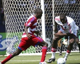 Jun 15, 2008, Chicago Fire vs FC Dallas - Dominic Oduro Photo by Rick Yeatts