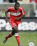 Aug 2, 2008, Chivas USA vs Chicago Fire - Bakary Soumare Photographic Print by Brian Kersey