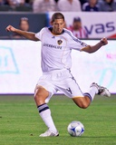 Jul 11, 2009, Los Angeles Galaxy vs Chivas USA - Omar Gonzalez Photographic Print by Robert Mora