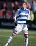 Apr 11, 2009, FC Dallas vs Toronto FC - Kenny Cooper Photographic Print by Paul Giamou