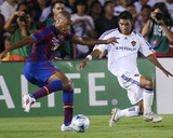 Aug 1, 2009, FC Barcelona vs Los Angeles Galaxy - Thierry Henry Photographic Print by Robert Mora