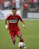 Aug 5, 2009, Chicago Fire vs Tigres UANL - Gonzalo Segares Photo by Brian Kersey