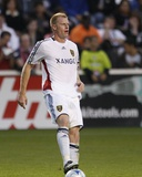 Aug 1, 2009, Real Salt Lake vs Chicago Fire - Nat Borchers Photographic Print by Brian Kersey