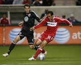 Aug 29, 2009, D.C. United vs Chicago Fire - Marc Burch Photographic Print by Brian Kersey