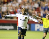 Aug 26, 2009, Chivas USA vs Real Salt Lake - Robbie Findley Photographic Print by Melissa Majchrzak