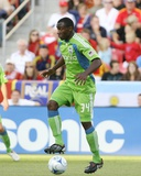 Aug 8, 2009, Seattle Sounders FC vs Real Salt Lake - Jhon Kennedy Hurtado Photographic Print by Melissa Majchrzak