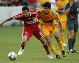 Aug 5, 2009, Chicago Fire vs Tigres UANL - Marco Pappa Photo by Brian Kersey
