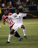 Jul 10, 2008, CD Chivas USA vs Los Angeles Galaxy - Edson Buddle Photographic Print by Robert Mora