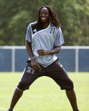 Jun 1, 2007, New England Revolution Practice - Shalrie Joseph Photographic Print by Martin Morales