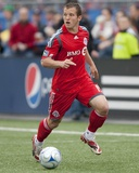 May 16, 2009, Chicago Fire vs Toronto FC - Chad Barrett Photo by Paul Giamou