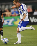 Jul 11, 2008, Kansas City Wizards vs Atlas A.C. - Tyson Wahl Photographic Print by Scott Pribyl