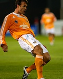 Apr 12, 2008, Kansas City Wizards vs Houston Dynamo - Bobby Boswell Photographic Print by Scott Pribyl
