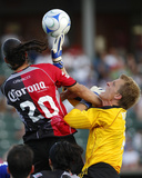 Jul 11, 2008, Kansas City Wizards vs Atlas A.C. - Eric Kronberg Photographic Print by Scott Pribyl